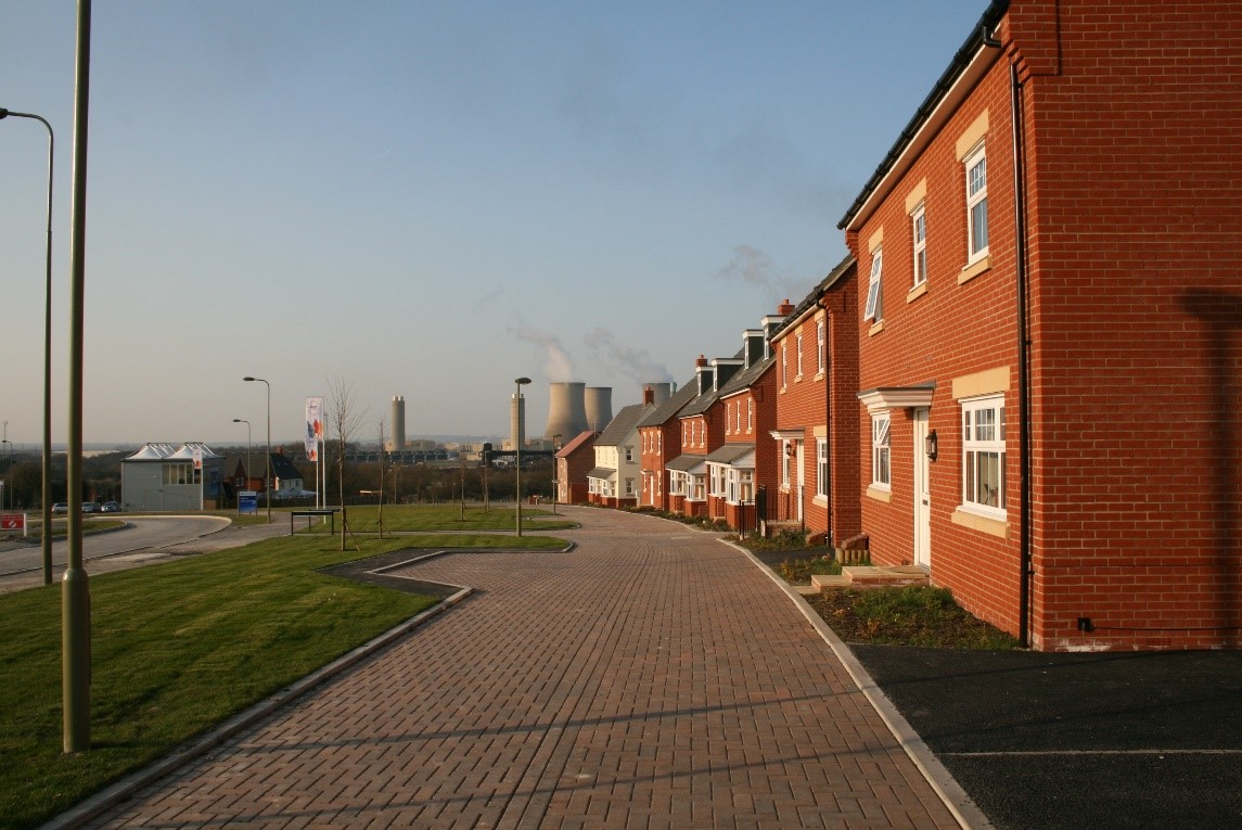 Great Western Park estate in Didcot