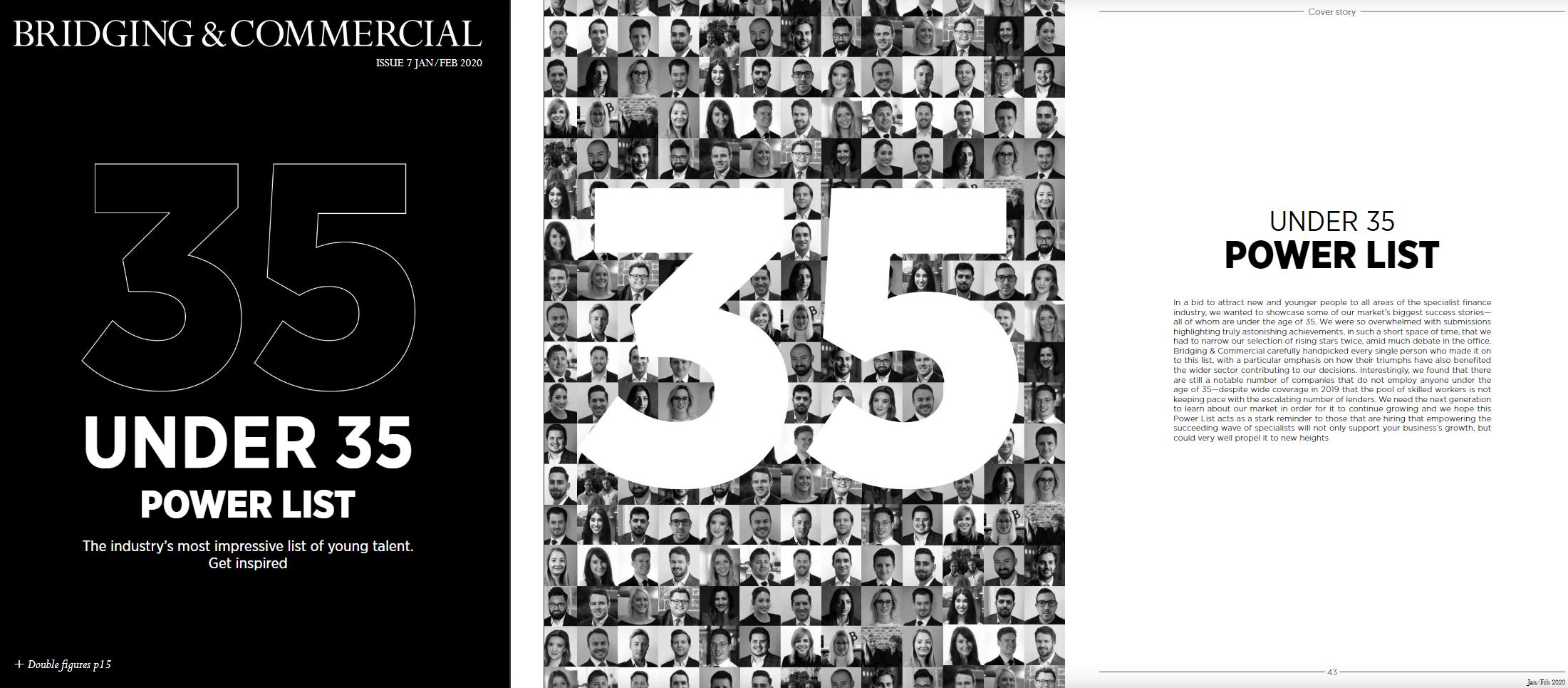 35 Under 35 Power List 2020