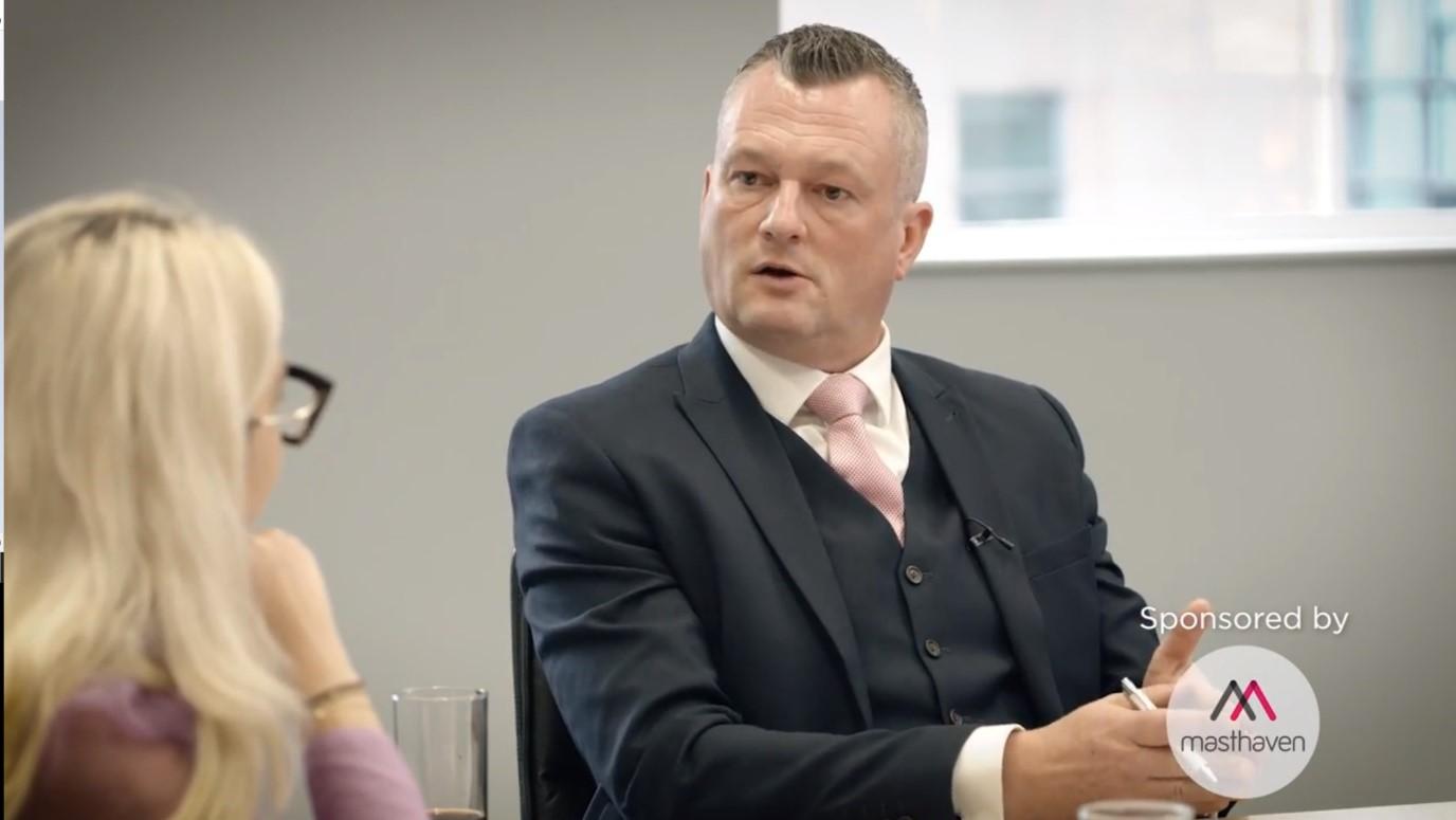Richard Deacon, sales director at Masthaven Bank