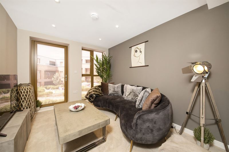 Featherstone Homes development living area