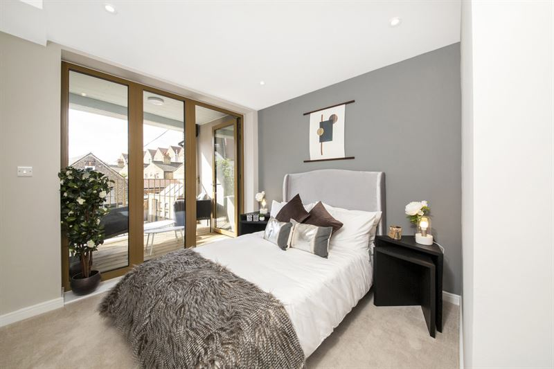 Featherstone Homes development bedroom