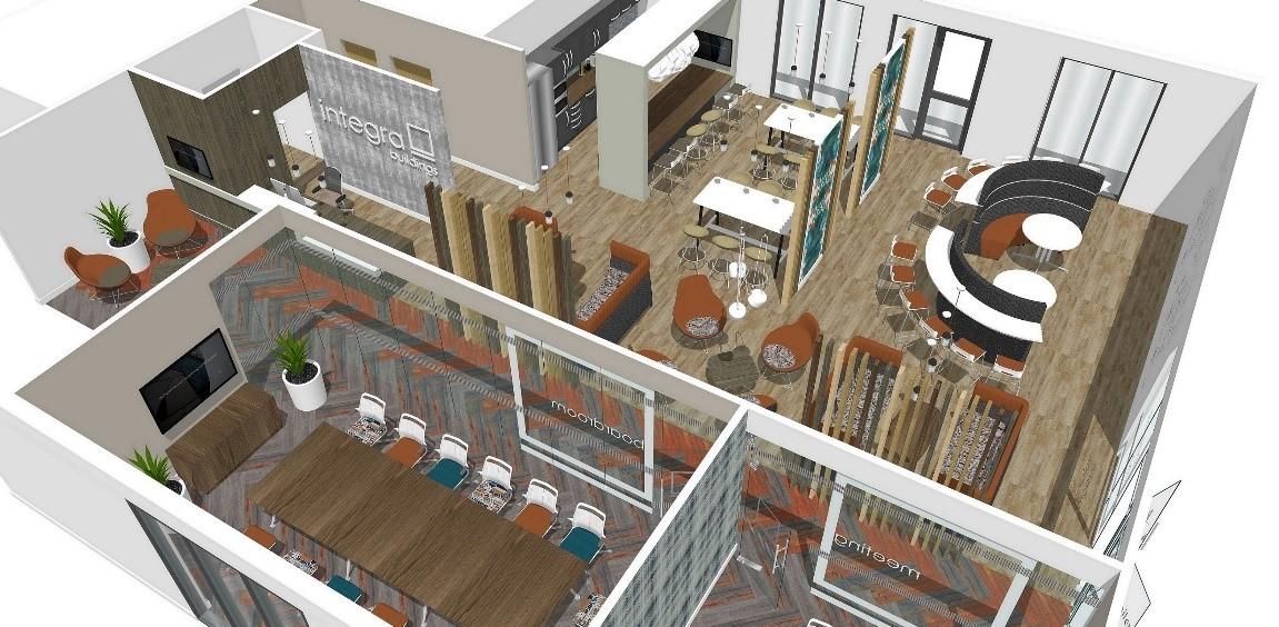 integra office inside