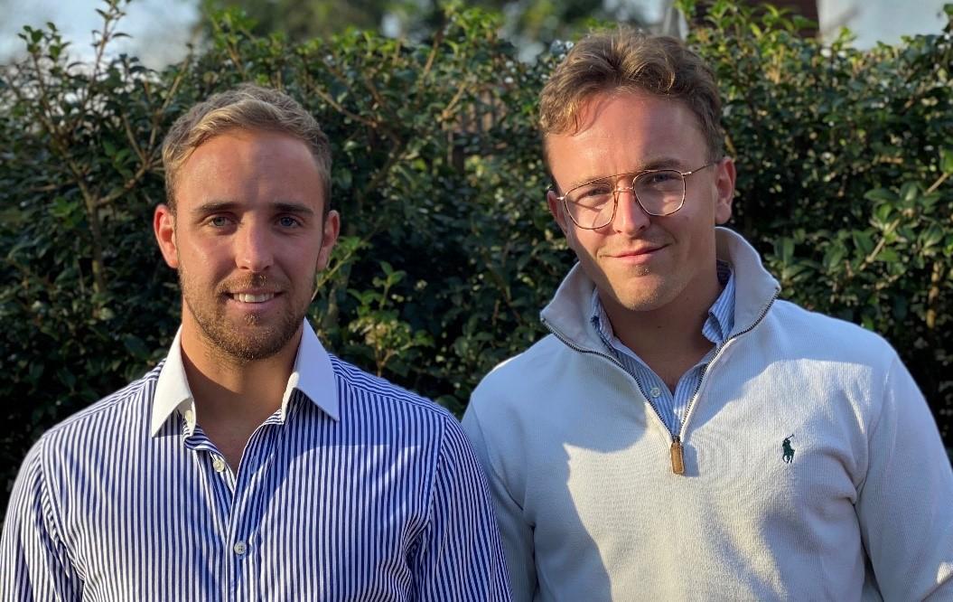 Jordan Fearnley Brown and Lewis Casserley of Albatross Capital